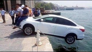 Ultimate Retardet Idiot Driving Fails | WTF Moments Caught On Camera 2017 #3