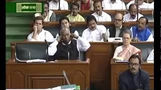 narendra modi funny comedy today | parliament modi speech