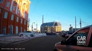 Car Crash Compilation 2017 Stupid Idiot Drivers Russian Fails Dashcam Accidents16
