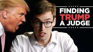 Finding Trump the Perfect Judge