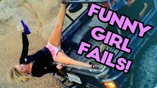 FUNNY GIRL FAILS of MAY 2017 | THE BEST FAILS | Funny Fail Compilation