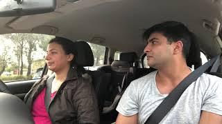 Drive With Mrs | Mr Sammy Naz | Punjabi Funny Video | Mr Sammy Naz