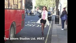 Funny Joke - This Woman Was Shocked When Stranger Picked Her Up And Placed Her Inside A Bus{V}