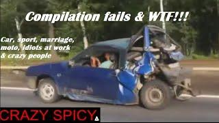 [Compilation of funny FAILS WTF] sport work and married ...  crazy and idiots - crazy spacy △