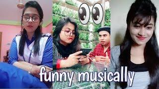 Trending Musically Bangla Funny Video || New Funny Video Bangla || Funny Musically Video 2018