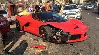 SUPERCAR CRASH FAILS Crashes and Fails 2017