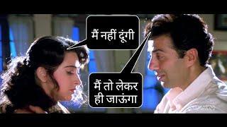 Sunny deol full funny hindi dub in jeet - full masti (part 3)