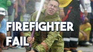 Firefighter FAIL Compilation    FUNNY VIDEOS    EPIC FAILS