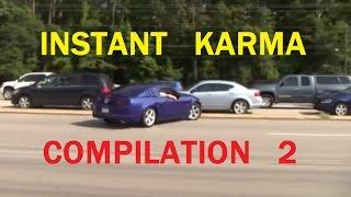 Instant Karma - Idiots on Road - Car Crash Compilation 2