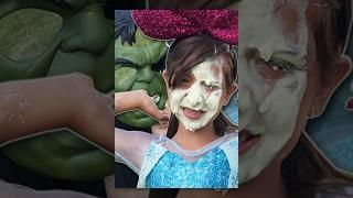 Frozen ELSA vs SPIDERMAN VS Hulk PRANKS - Spider-Man and FROZEN ELSA SPIDER Elsa IN REAL LIFE Funny