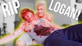 FAKING MY OWN DEATH PRANK! *crazy reaction!*