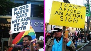 Funny Protest Signs By Hilarious People