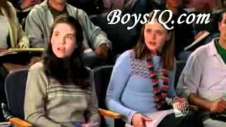 Gilmore Girls S05 - Clip 03.  fresh funny films college humor prank war april fools prank harmless