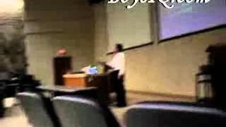 Batman and Robin Appearance In Psych Lecture!  high defination fun video college humor prank april