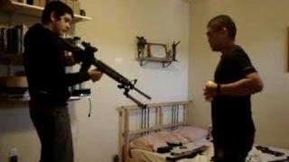 AR-15 Bullet Proof Armour Test Fail It Penetrates !!!! Extreme Idiots Funny Youngsters