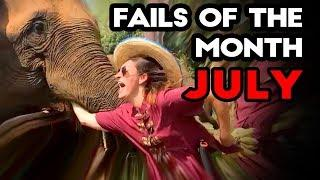 FAILS OF THE MONTH - July 2017 | Funny Weekly Fail Compilation | Best Fails Coub Montage Selection