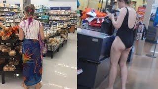 Czary New 2016! Funny People Of Walmart #36