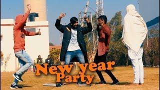 New Year Party Funny in Haryana Peoples || Funny Video || Sagar kumar || Sushil jangra