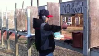 50 cal idiot at the shooting range