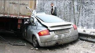 Best Car Crashes 2017 Compilation NEW Idiot Driver Fails Winter