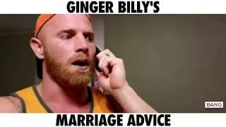 COMEDIAN GINGER BILLY: MARRIAGE ADVICE! LOL FUNNY COMEDY LAUGH