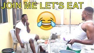 JOIN ME LET'S EAT(COMEDY SKIT) (FUNNY VIDEOS) -Latest 2018 Nigerian Comedy|Comedy Skits|Naija Comedy