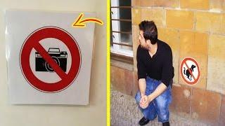 Funny People Who Break The Rules #6