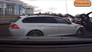 IDIOT FUNNY DRIVERS CRAZY FUNNY FAILS (BMW ANGRY DRIVERS EDITION 2 )ep 13