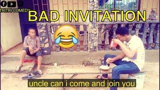 BAD INVITATION (COMEDY SKIT) (FUNNY VIDEOS) - Latest 2018 Nigerian Comedy| Comedy Skits|Naija Comedy