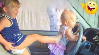 TRY NOT TO LAUGH or GRIN: Funny Kids Fails Compilation 2017 | Top 10 Funny Baby Fails Videos 2017