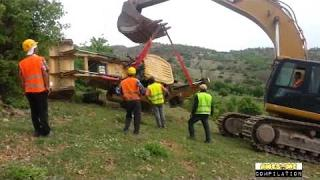 Heavy Equipment Fails Disasters Funny Idiot Operators Shocking Best Accidents Compilation NEW 2017