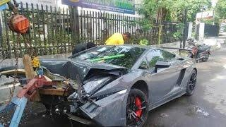 Supercar IDIOT Crazy Crashes 2016 ft lambo, ferrari, mclaren...