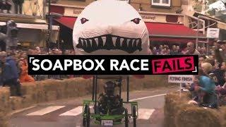 ✘ Ultimate Red Bull Soapbox Race Fail Compilation