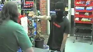 Robbery fail: Clerk takes armed man's gun in funny convenience store holdups compilation
