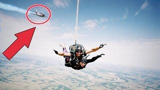 TOP 5 Horrifying Skydiving Fails Caught on Camera 2017 - Terrifying Skydive Moments Caught on GoPro