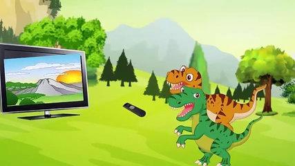 Funny Dinosaurs Cartoons for Kids 2017. Best  Dinosaur Videos Movies Cartoons for Children-KMgjRYWOs