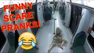 (Funny) Scare Pranks! Funny People Getting Scared Pranks! Scare Pranks Compilation 153