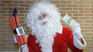 Psycho Santa Claus Scare Prank!