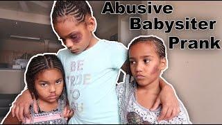 Bad Babysitter Prank