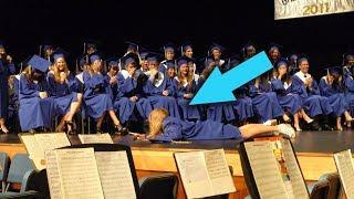 TOP 10 MOST Funniest and Embarrassing Graduation Fails! (Tripping At Graduation)