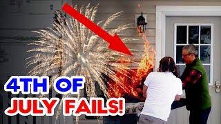 4TH OF JULY FAILS! - Firework, BBQ and Backyard Fails 2017 | Funny Fail Compilation | Best Fails