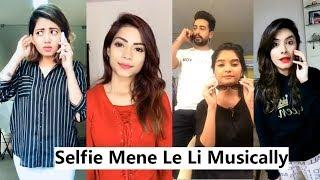 Selfie Mene Le Li Musically Funny | Dhinchak Pooja, Nagma Mirajkar, Disha Madan