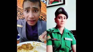মাইয়া পুলিশের এ কেমন অভিনয়? | bangla tik tok funny video 2018
