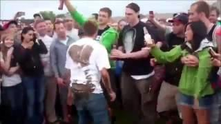 Drunk idiot is looking for a fight #Games 2015 - Full HD #Funny 2015 Fails