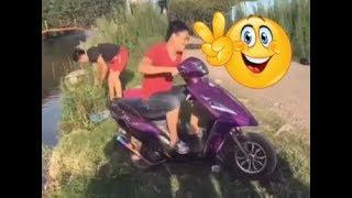 Funny video - water - people doing stupid things - try not to laugh
