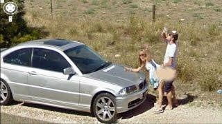 10 Funny People Caught Naked on Google Maps Street View | Funny Google Maps Photos